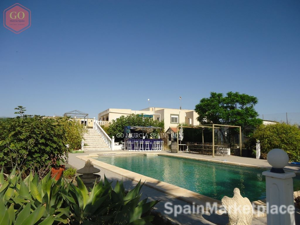 5 BED COUNTRY HOUSE-FINCA MURCIA SPAIN